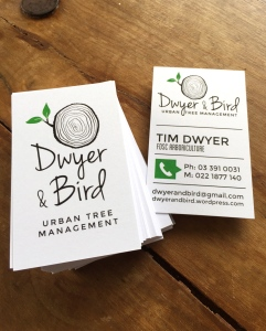 Exciting new business cards